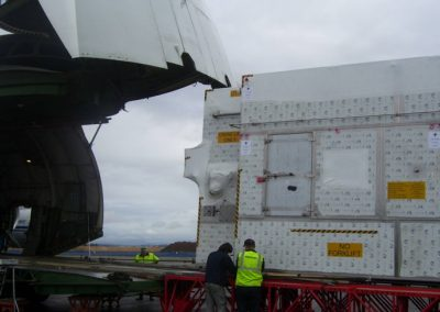 air freight in plane